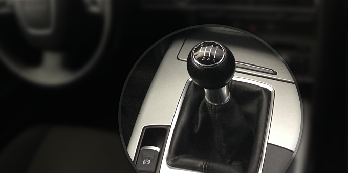 A6 4F Manual Gearshift Knob Replacement with S-line Knob