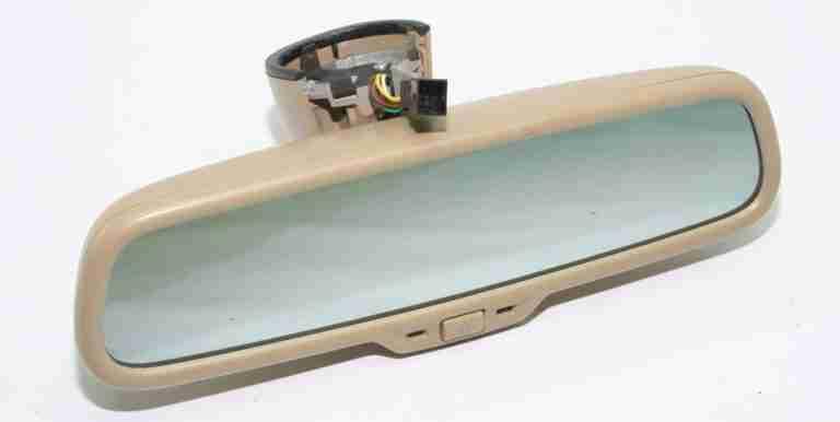 A6 4F Automatic Dimming Mirror Retrofit