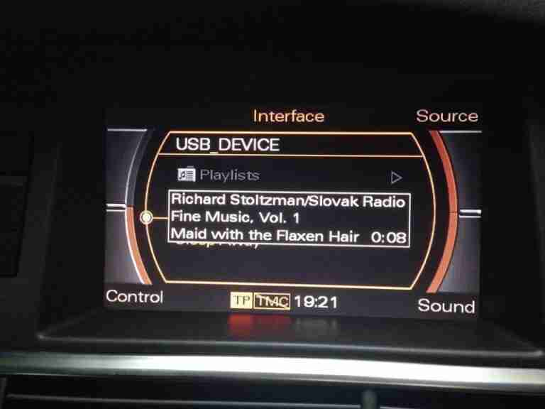 Audi Music Interface (AMI) Retrofit for A6 4F - Audi A6