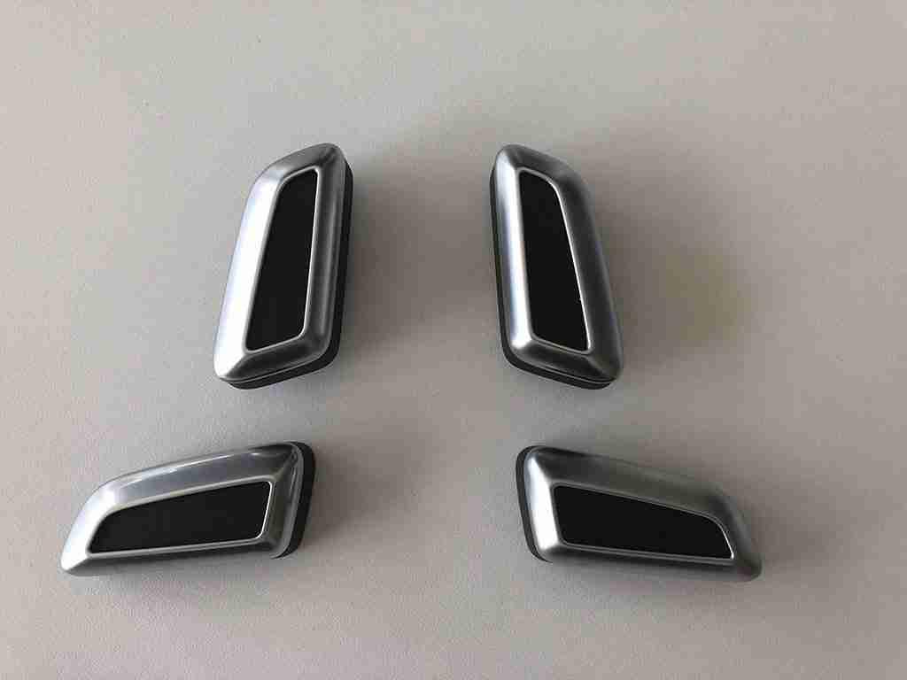 A6 4G C7 - Chrome Seat Buttons - Audi A6 Retrofit Blog